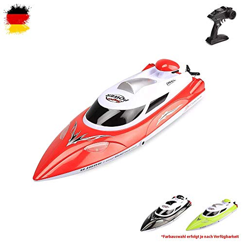 HSP Himoto Highspeed RC ferngesteuertes Speedboot mit 2,4GHz digital vollproportional, Aufrichtfunktion, Boot Racing Rennboot-Modell mit Top-Speed bis zu 35km/h