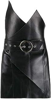 LUST FOR PELLE BLACK wrap Dress for Women
