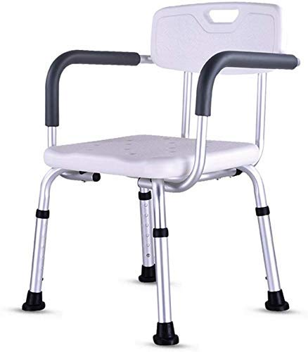 ZXY-NAN Bathroom Wheelchairs Stools Bath Stool AntiSlip Shower Seat Stool Shower Seats Stool for Elderly AntiSlip Safe and Stable Bath Stool Disabled Accessible Shower Stool HighQuality Aluminum Alloy