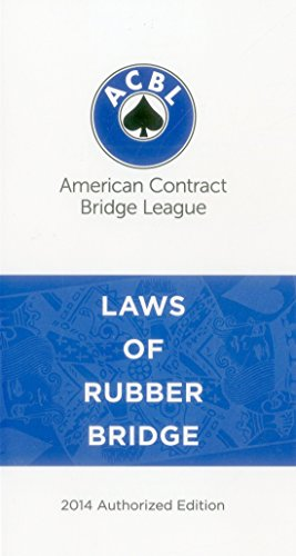 Laws of Rubber Bridge