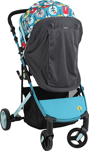 LittleLife Buggy Blackout Unisex-Baby, Grey