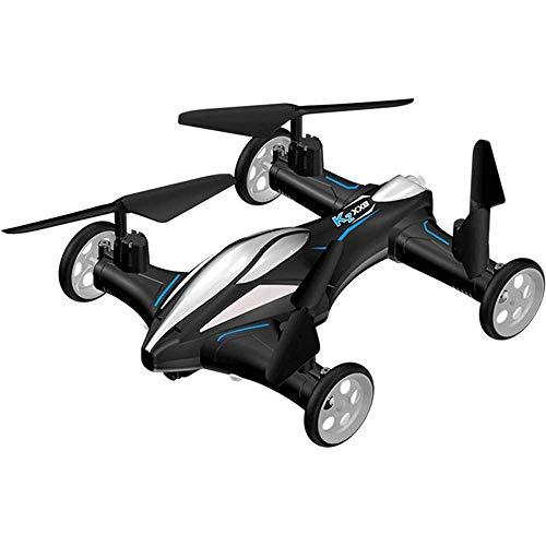 Drones terrestres y aéreos de modo dual, aviones de control remoto, juguetes de carreras terrestres, drones para niños de cuatro ejes de doble propósito, drones aéreos de alta definición 720p, juguete
