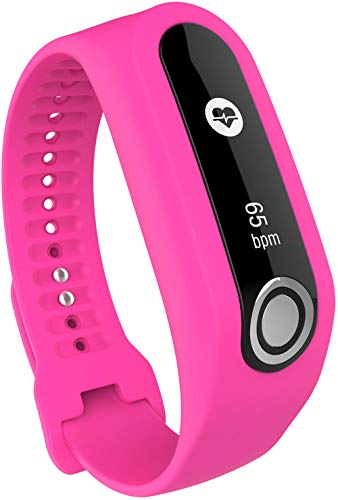 Shieranlee Armband kompatibel mit Tomtom Touch Armband - Silikon Fitnesstracker Sportarmband Band