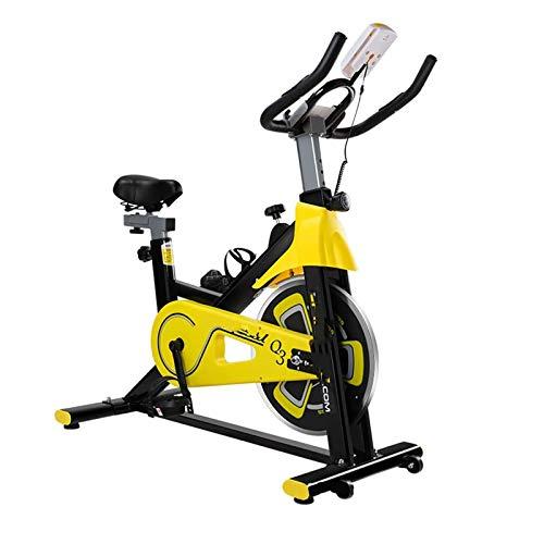 WJFXJQ Rodamiento de Carga 300kg Spinning Bicycle Home Ejercicio Bicicleta Interior Entrenamiento Bicicleta Deportes Equipo Aerobics Dispositivo de Entrenamiento