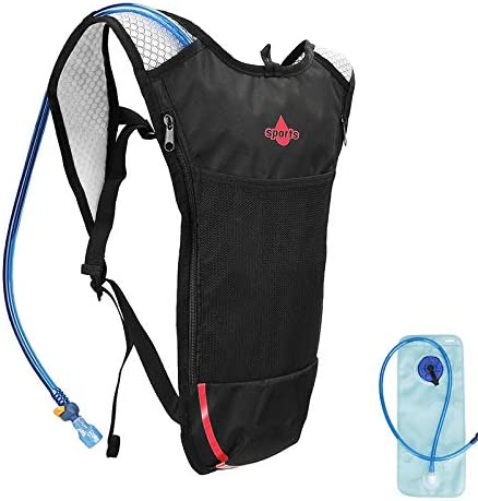 None Brand Hydration Backpack Pack with 2L Hydration Bladder Lightweight Water Backpack Keeps product image