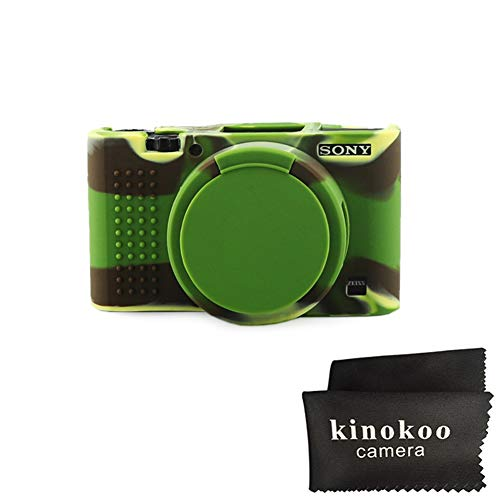 kinokoo Silikon Hülle für Sony DSC-RX100M2/M3/M4/M5/M6 RX100 II/RX100 III/RX100 IV/RX100 V/RX100 VI Schutzhülle Rubber Cover
