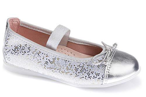 Zapatos Bailarina para niña Pablosky Plateado 343550