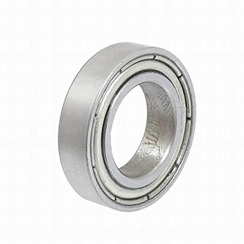 Ugtell 6801 Thin Section Sealed Deep Groove Ball Bearing 12 x 21 x 5mm