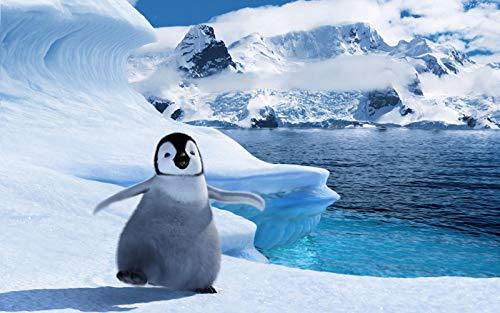 Pinguino di Mare Antartico Bambini Puzzle Legno Adulti Giocattolo DIY Gioco Decorazione Murale 500 Pezzi Jigsaw Puzzle