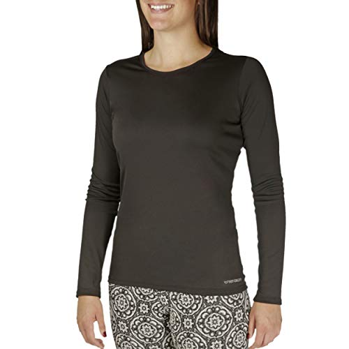 Hot Chillys Women's Peachskins Solid Crewneck Lightweight Relaxed Fit...