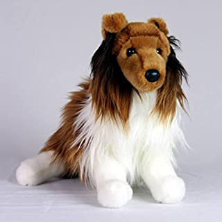 Collie Dog- Stuffed Animal Therapy for People with Memory Loss from Aging and Caregivers