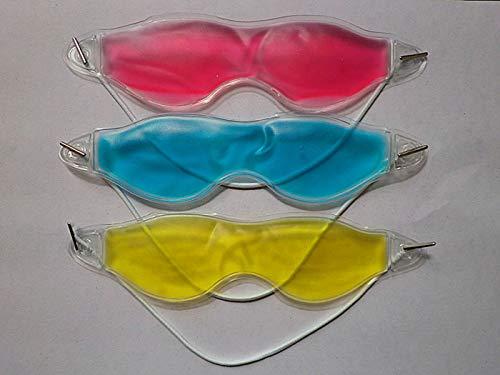 MoonyLI 3pcs Masque pour Les Yeux Gel Froid Pack Chaleur Chaude Glace Masque de Sommeil fatigué soulager la Fatigue des Yeux Masque de Sommeil Gel pour Les Yeux Lunettes de Glace protéger Les Yeux