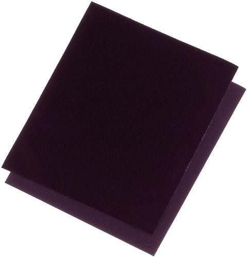 mako # Korund-Schleifpapier # Körnung 220 # für die Metallbearbreitung an Rundungen und schwer zugänglichen Stellen # 230 x 280 mm #