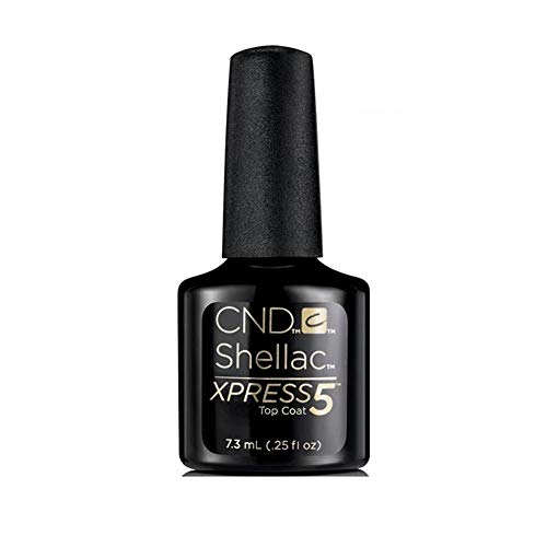 CND Shellac Xpress5 Top Coat, 1er Pack (1 x 7,3ml)