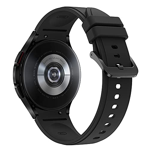 Samsung Galaxy Watch4 Classic LTE 46mm SmartWatch Acciaio Inox, Ghiera Rotante, Monitoraggio Benessere, Fitness Tracker, Black 2021 [Versione Italiana]