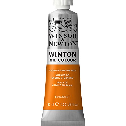 Winsor & Newton Winton Oil Color Paint, 37-ml Tube, Cadmium Orange Hue