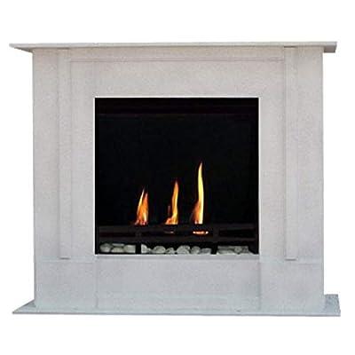Gel + Ethanol Fireplace Rafael Premium - Choose from 9 colors (Granite light)