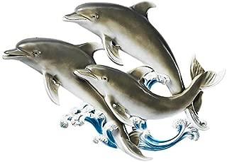 Design Toscano The Good Seas Dolphin Wall Sculpture