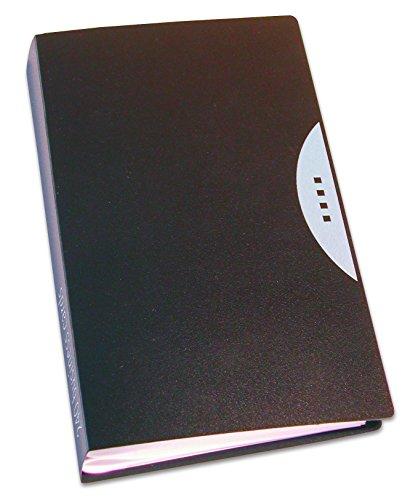Fellowes 40346Office Suites tarjetero para 240tarjetas, color negro