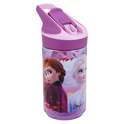 Frozen Trinkflasche Tritan Premium 2 HOME Unisex Erwachsene, Komposite, Schwarz