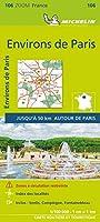 ENVIRONS DE PARIS 2021 (Environs of Paris)- Michelin Zoom Map 106: Map (Michelin Zoom Maps)