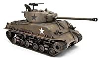 FloZ 1/48 完成品 WWII US M4A3E8 Sherman easy eight 4th Armored Div. モデル 陸軍戦車