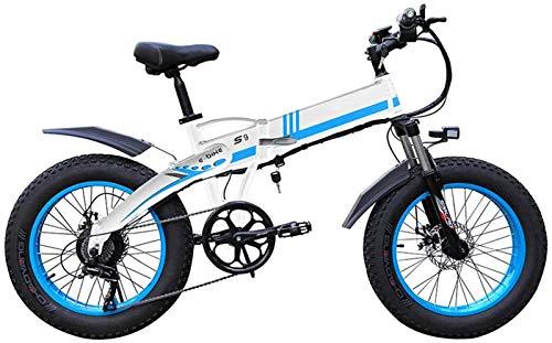 Alta velocidad Bicicletas eléctricas for adultos 1000w eléctrica plegable de la bici...