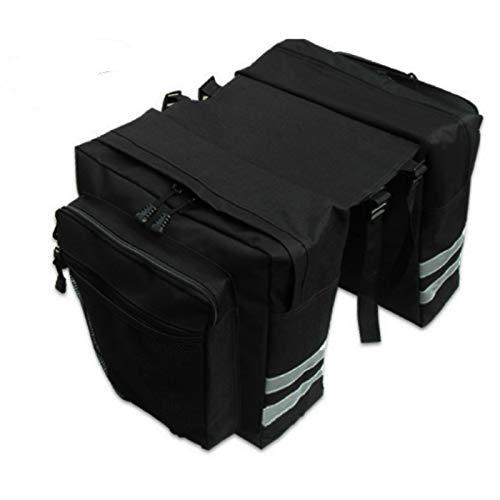 GGHKDD - Bolsa para portaequipajes de bicicleta, impermeable