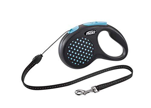 flexi Design S Seil 5 m blau für Hunde bis 12 kg