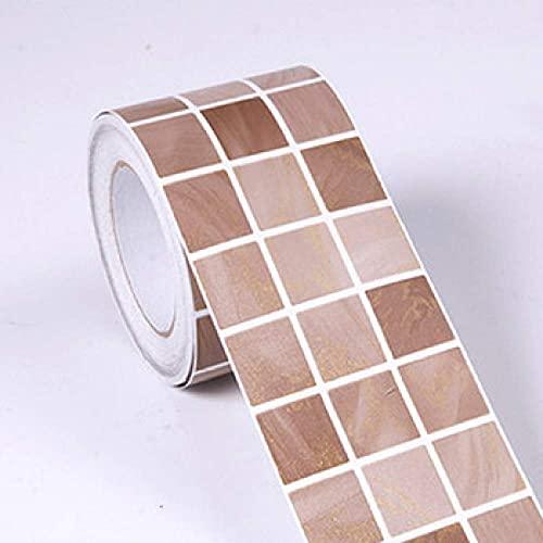 Pegatina, Etiquetas de pared, Decoración de la pared, Etiquetas de pared de la baldosa Calcomanías para Kitchenclásico Mosaico Dtickers Vinyl Impermeable Cintura Auto adhesivo Papel tapiz para la coci