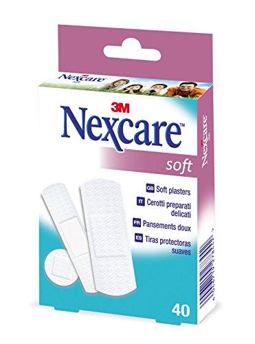 Nexcare N0540AS Soft Pflaster, 40 Pflasterstreifen