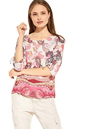 comma Damen 81.005.19.2593 3/4 Arm Bluse, 40D2, 38