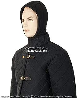 Medieval Gears Brand Medieval Gambeson Large Size Type II Aketon Jacket Padded Armor Coat Reenactment