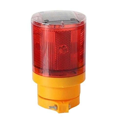 ledholyt 0,3W funciona con energía solar inalámbrico de emergencia luz estroboscópica luz de advertencia intermitente Barricade Seguridad construcción de carreteras tráfico parpadeo lámpara de faro