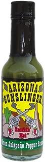 Arizona Gunslinger Green Jalapeno Hot Sauce 5 Oz