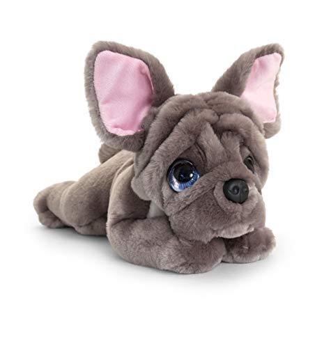 Keel Toys Signature Cuddle Puppy Französische Bulldogge, 32 cm