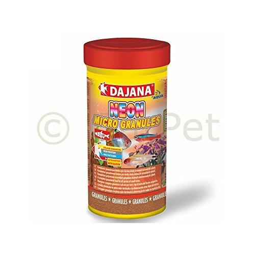 dajana Neon Micro Gránulos pescado Forro granuliertes Premium Principal Forro