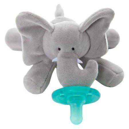 WubbaNub Elephant Pacifier - Gray