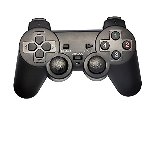 ENTWINO Game Pad Wired, Game Remote, Game Controller With Joy Stick, For PC and Play Stations, ENTER-E-GPV compatible with Win98/2000/ME/XP/Vista With 1 Year Warranty USB Game Remote Control