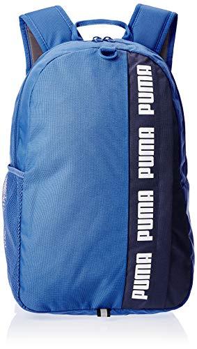 PUMA Tessuto in Poliestere Azzurro/Blu con Stampe Bianche