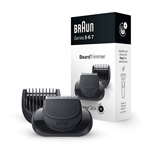 Braun EasyClick Beard Trimmer Attachment for Series 5, 6 and 7 Electric Shaver
