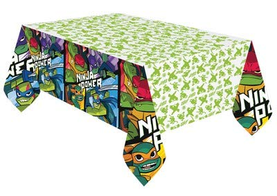 ILS I LOVE SHOPPING Tovaglia per Festa Compleanno (Tartarughe Ninja Ninja Turtles, Tovaglia)
