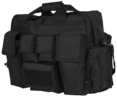 LA Police Gear Jumbo Bail Out Bag -Diaper Bag, Bug Out, Briefcase-Black