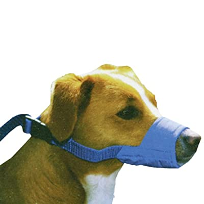 Four Flags Quick Muzzle for Dogs Small ,1 pc ,Blue