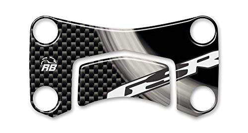 Adhesivo Resina 3D Placa Dirección Compatible con Suzuki GSR 600 2006-2010