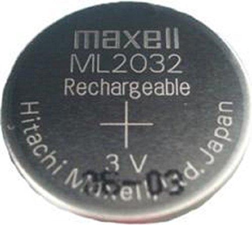 ML2032 コイン形二酸化マンガンリチウム二次電池
