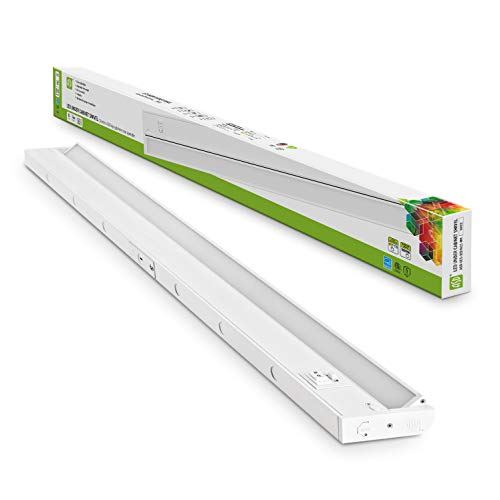 ASD LED Under Cabinet Swivel 32 inch 16W 1180lm Dimmable 3 Color Levels CCT Adjustable 2700-4000K White Finished, Hardwired or Plug-in Installation, Linkable, Hi/Low Switch, cETLus Energy Star