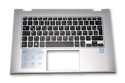 Preisvergleich Produktbild Dell 5VY7J Keyboard / Tastatur mit Palmrest / Handablage für Dell Inspiron 13 7000 Series
