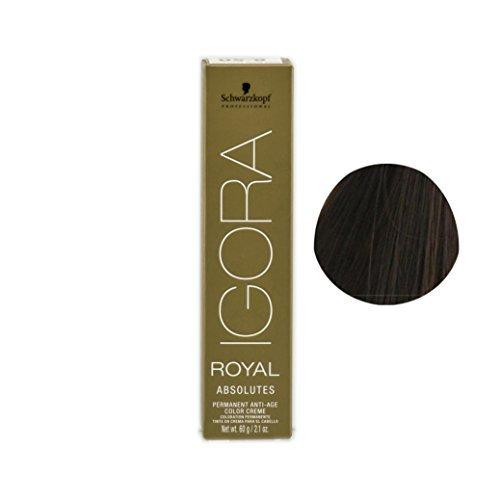 Schwarzkopf Professionele Igora Royal Absolutes Haarkleur - 6-460 Donker Blonde Beige Chocolade door Schwarzkopf Professional