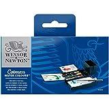 Winsor & Newton acuarela Cotman - Caja de acuarela de Campo - set de 12 medio godets, colores surtidos